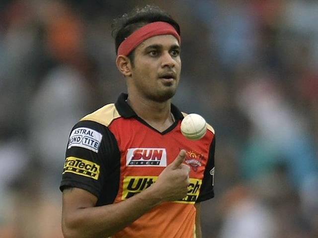 IPL 2018: SunRisers Hyderabad Pacer Siddarth Kaul Reprimanded For Breach Of Conduct