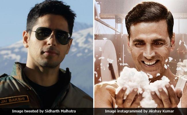 It's Sidharth Malhotra's Aiyaary vs Akshay Kumar's PadMan At The Box Office On Republic Day