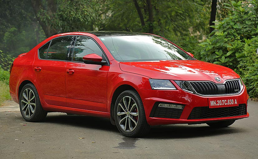 skoda octavia rs review ndtv carandbike. Black Bedroom Furniture Sets. Home Design Ideas