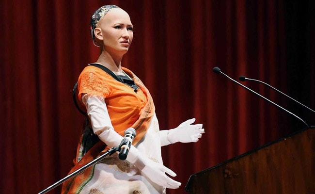 Image result for sophia robot india