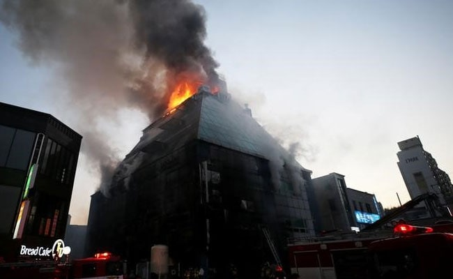 Fire In South Korean Fitness Centre Kills 29