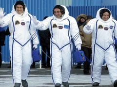 US, Russian, Japanese Crew Blasts Off For Space Station