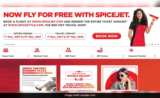 spicejet fly for free offer