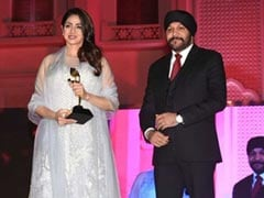 Is It Just Us Or Does Sridevi Look Like A Giant Snowflake In This Dress?