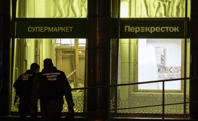 Saint Petersburg Supermarket Attack Suspect Arrested