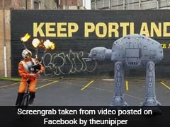 Flaming Bagpipes And Unicycle: Man's Bizarre 'Star Wars' Tribute Is Viral