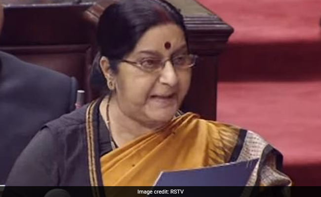 'No Cricket Series Till Pakistan Stops Terrorism,' Says Sushma Swaraj