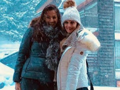 Sussanne Khan Made It Snow On Instagram With These Pics