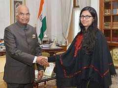 नरेला मामले को लेकर DCW की अध्यक्ष स्वाति जयहिंद राष्ट्रपति कोविंद से मिलीं