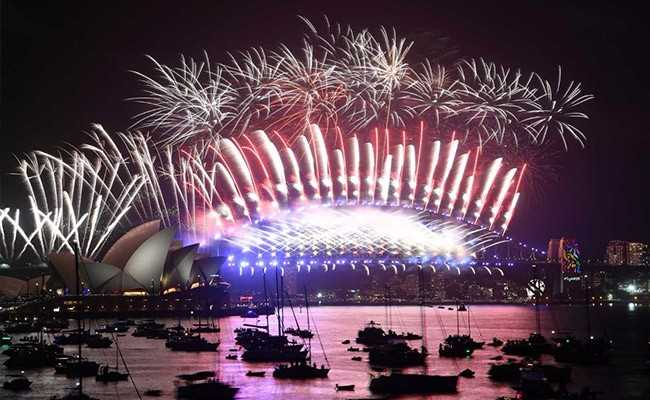 Amid Heavy Security, Millions Across The World Celebrate As 2018 Rolls In