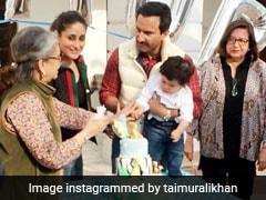 Inside Photos: केक काटने की जल्दबाजी में ये क्या करने लगे तैमूर अली खान, दादी ने रोका