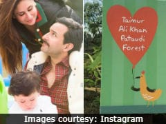Kareena Kapoor's Son Taimur Gets A Forest - Yes, A Forest - As Birthday Gift. And It's Lovely