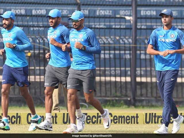 Watch: Team Indias New Pace Attack Warming Up Before Sri Lanka T20 Challenge