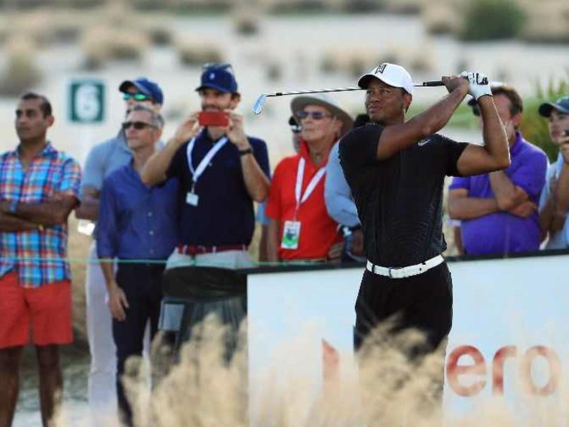 Tiger Woods back on the leaderboard and back turning heads