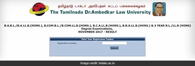 tndalu degree exam result 2017