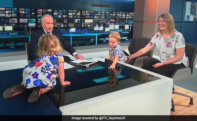 toddler hijacks news show 650