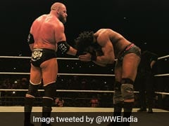 WWE Live: Triple H Beats Jinder Mahal, Crowd Say Disappointed But Passion