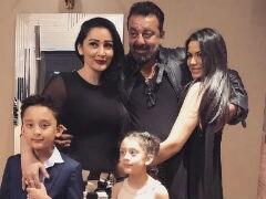 Trishala Posts Pic With Sanjay Dutt And Maanyata. The Caption Says It All