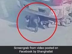 Shocking Video: तेज ट्रक के नीचे आ गई थी लड़की, फिर जो हुआ वो...