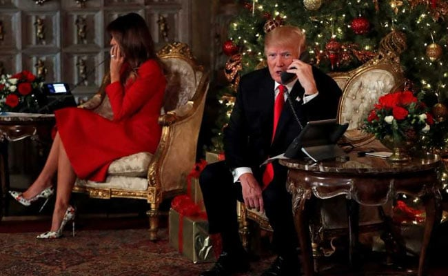 Trump's Christmas Wish: 'We've Got Prosperity. Now We Want Peace'
