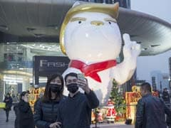 For China's 'Year Of The Dog', Mall Erects Giant Trump Dog Statue