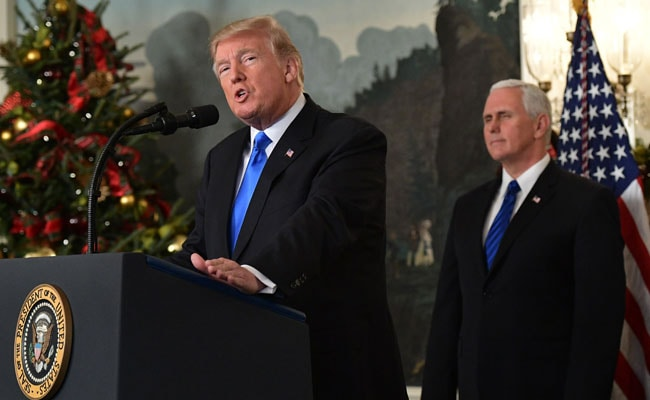 Trump Recognizes Jerusalem As Capital Of Israel In Reversal Of Longtime US Policy