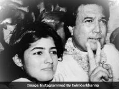 On Shared Birthday, Twinkle Khanna Posts Old Pic With Dad Rajesh Khanna