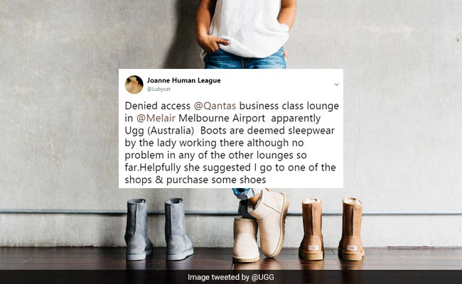 c0ee35eb2a0 Woman Denied Entry To Airport Lounge For Wearing Ugg Boots