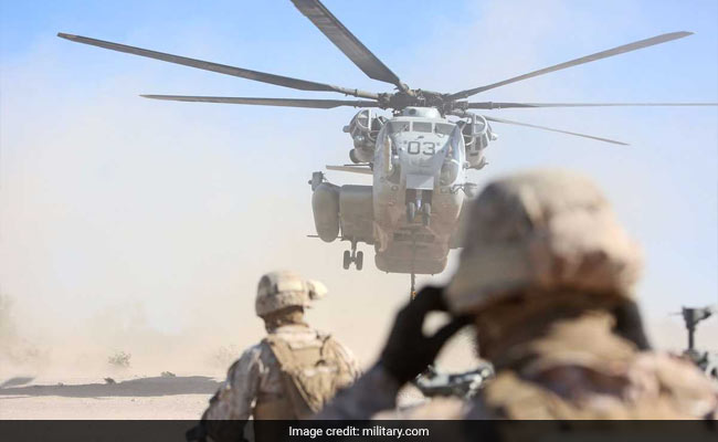 Window Falls From US Marines Helicopter Onto School Grounds In Japan