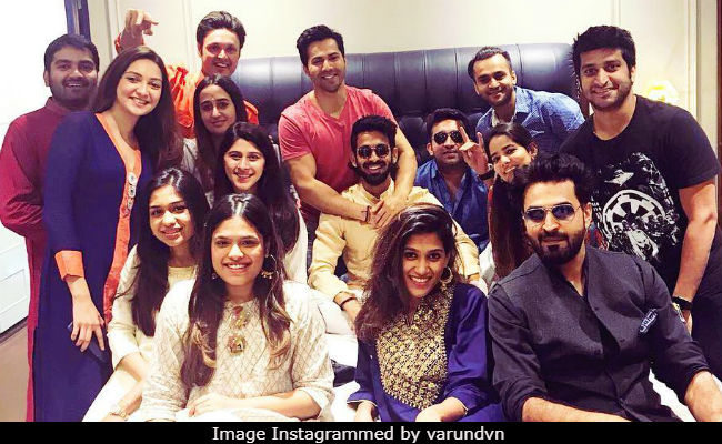 Varun Dhawan's Rumoured Girlfriend Natasha Dalal Spotted At His Housewarming Party