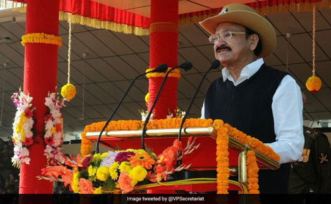 Terror A State Policy For Pakistan, Says Venkaiah Naidu On Raising Day