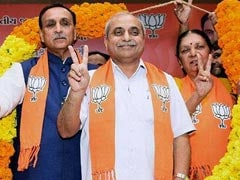BJP Held Meet At Gujarat Chief Minister's Home: Congress To Poll Panel