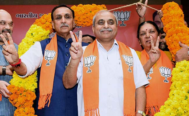 Rupani govt in Gujarat to be sworn-in on Dec 26