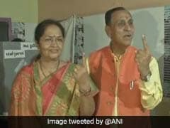 """No Challenge"": Chief Minister Vijay Rupani Claims Easy Win In Gujarat"