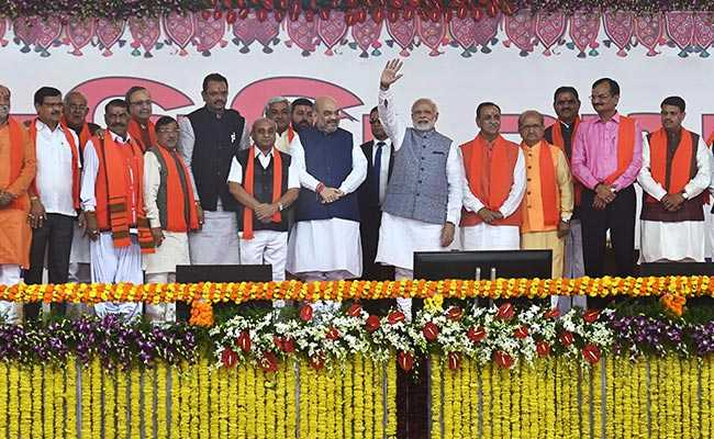 vijay rupani swearing in