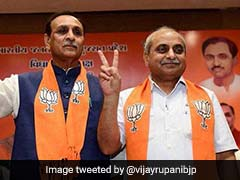 After Swearing In, Vijay Rupani Gets Praise From BJP Chief Ministers