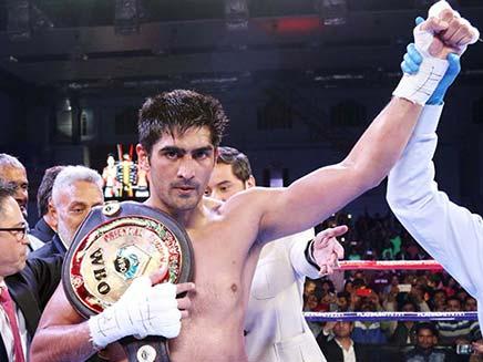 Vijender Singh Opens Up About Fighting British Star Amir Khan