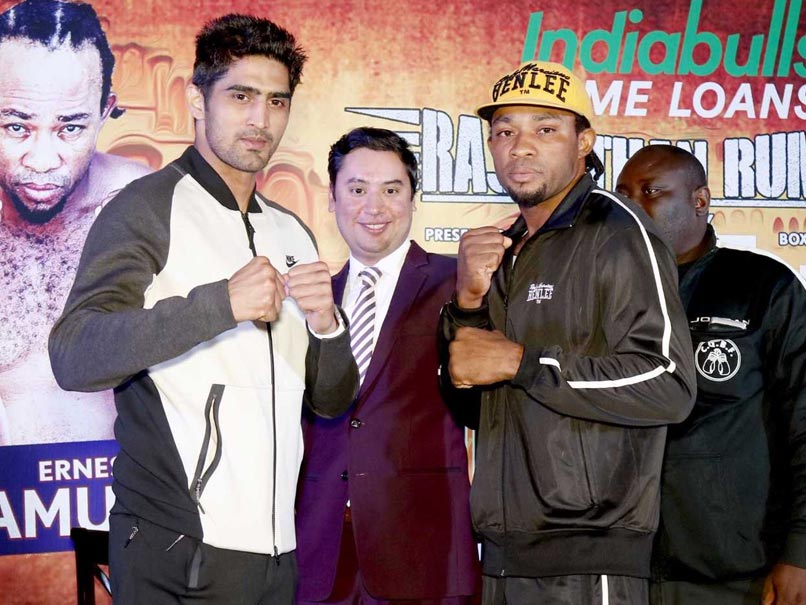 Vijender Singh vs Ernest Amuzu, Highlights: Indian Star Registers 10th Straight Win