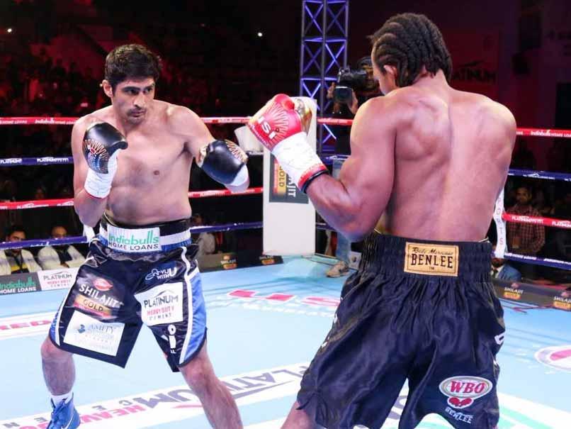 Vijender Singh Beats Ghana