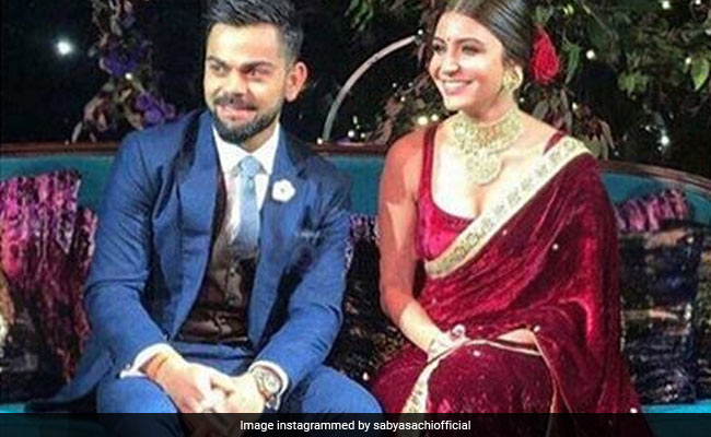 virat and anushka on their engagement
