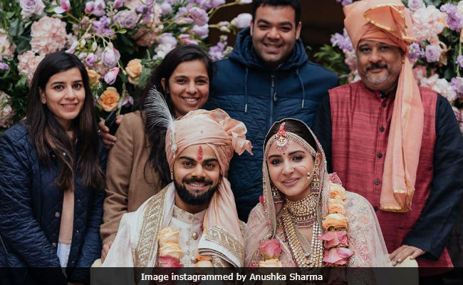 Virat Kohli Wedding.Anushka Sharma And Virat Kohli Thank Dream Team For Making Their