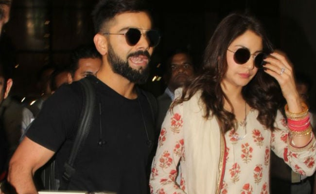 Delhi Reception Done, Anushka Sharma And Virat Kohli Fly To Mumbai. See Pics