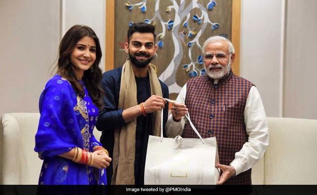 Anushka Sharma, Virat Kohli Invited PM Modi To Their Wedding Reception