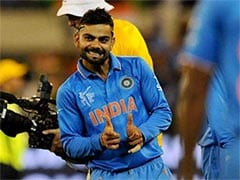 Virat Kohli's Response To Teammates' Congratulatory Messages
