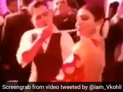 Watch: Virat Kohli, Anushka Sharma Scorch The Dance Floor With Killer Moves