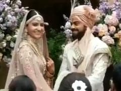 Watch: Here Comes The Bride. Anushka Walks Down Tuscany Aisle
