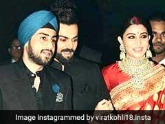 This Guest Stole The Show At Virat Kohli, Anushka Sharma's Delhi Reception