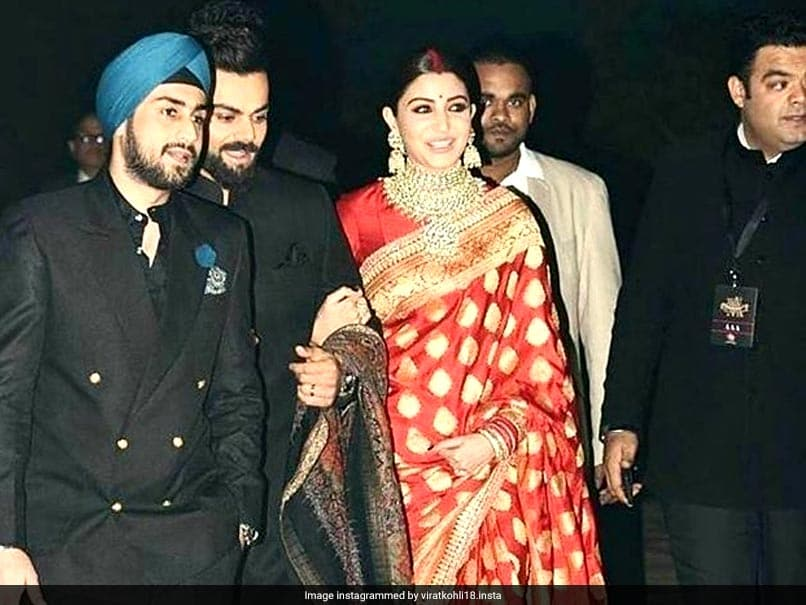 This Guest Stole The Show At Virat Kohli, Anushka Sharma