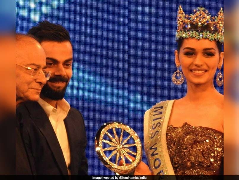 For Virat Kohli, A Question From Miss World Manushi Chillar
