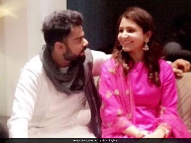 Virat Kohli Clicked With Anushka Sharma Ahead Of Wedding Reception In New Delhi